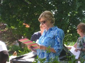 Judy Sullivan new Pres